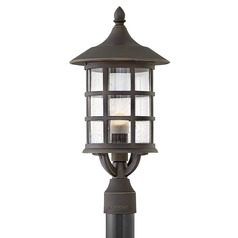 Hinkley Lighting Freeport Oil Rubbed Bronze LED Post Light