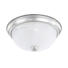HomePlace Lighting Ceiling Chrome Flushmount Light