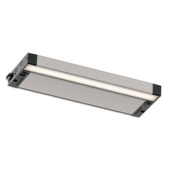 Kichler Lighting 6u Series LED Nickel Textured 12-Inch LED Under Cabinet Light