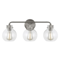 Feiss Lighting Clara Satin Nickel Bathroom Light