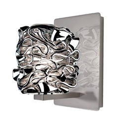 WAC Lighting Candy Brushed Nickel LED Sconce