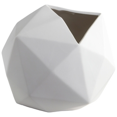 Cyan Design Astronomical Matte White Vase