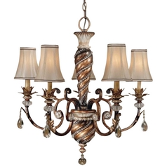 Minka 5-Light Chandelier in Aston Court Bronze