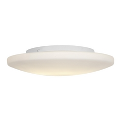 Access Lighting Orion White Flushmount Light