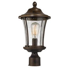 Elk Lighting Morganview Hazelnut Bronze Post Light