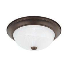 HomePlace Lighting Ceiling Bronze Flushmount Light