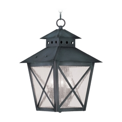Livex Lighting Montgomery Charcoal Outdoor Hanging Light