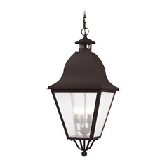 Livex Lighting Amwell Bronze Outdoor Hanging Light