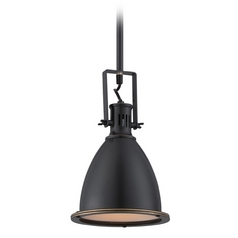 Lite Source Lighting Dark Bronze Mini-Pendant with Bowl / Dome Shade