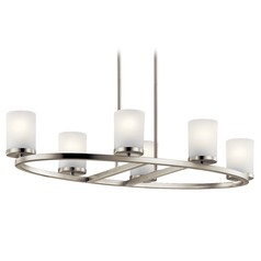 Kichler Lighting Daimlen 6-Light Brushed Nickel Chandelier