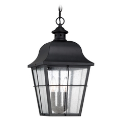 Quoizel Millhouse Mystic Black Outdoor Hanging Light