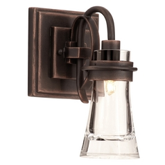 Kalco Lighting Dover Antique Copper Sconce