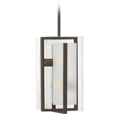 Hinkley Lighting Latitude Oil Rubbed Bronze Mini-Pendant Light