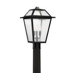 Quoizel Lighting Black Ridge Mystic Black Post Light