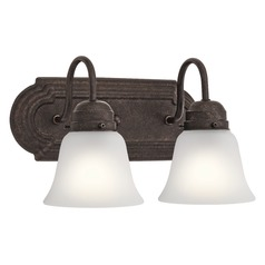 Traditional Bathroom Light Bronze by Kichler Lighting