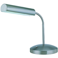 Lite Source Lighting Broden Polished Steel Desk Lamp