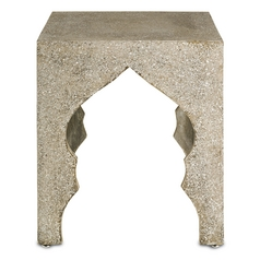 Currey and Company Lighting Polished Concrete Coffee & End Table