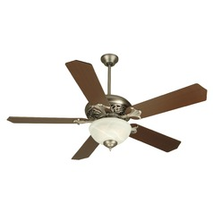 Craftmade Lighting Mia Pewter Ceiling Fan with Light