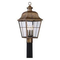 Quoizel Lighting Millhouse Veneto Post Light