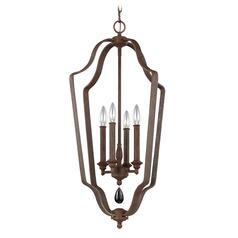 Feiss Lighting Dewitt Weathered Iron Pendant Light
