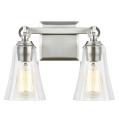 Feiss Lighting Monterro Satin Nickel Bathroom Light