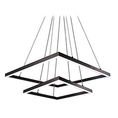Kuzco Lighting Modern Black LED Pendant 3000K 9245LM
