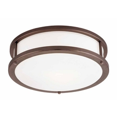 Access Lighting Conga Bronze LED Flushmount Light