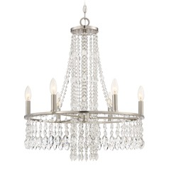 Quoizel Lighting Majestic Brushed Nickel Chandelier