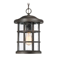 Quoizel Lighting Crusade Palladian Bronze Outdoor Hanging Light