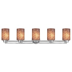 Design Classics Salida Fuse Chrome Bathroom Light
