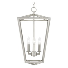 Design Classics Terrazza Entry Satin Nickel Pendant Light