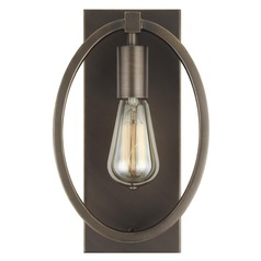 Feiss Lighting Marlena Antique Bronze Sconce