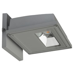Nuvo Gray LED Wall Pack 3000K 2310LM 120-277v 21W