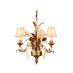 Corbett Lighting Tivoli Silver Chandelier