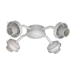Savoy House White Fan Light Kit