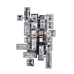 Vermeer 2 Light Wall Bracket w/ Chrome