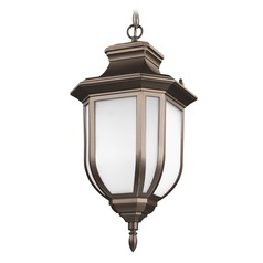 Sea Gull Lighting Childress Antique Bronze LED Outdoor Hanging Light