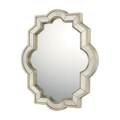 Capital Lighting Brushed Silver  Mirror 43x36