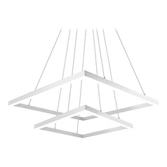 Kuzco Lighting Modern White LED Pendant 3000K 14212LM