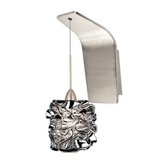 WAC Lighting Candy Brushed Nickel Sconce