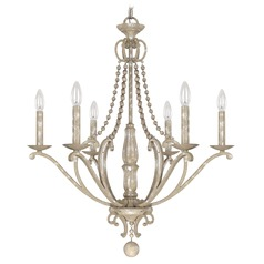 Capital Lighting Adele Silver Quartz Chandelier