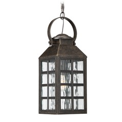 Quoizel Lighting Miles Imperial Bronze Outdoor Hanging Light