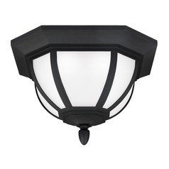 Sea Gull Lighting Childress Black LED Close To Ceiling Light