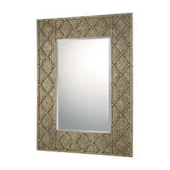 Capital Lighting Silver and Bronze  Mirror 39.5x30