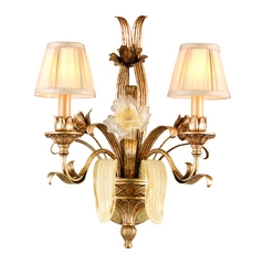 Corbett Lighting Tivoli Silver Sconce
