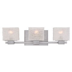 Quoizel Melody Brushed Nickel Bathroom Light
