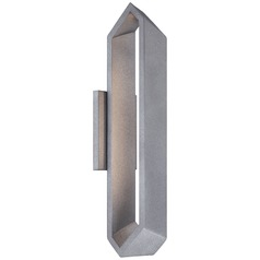 George Kovacs Pitch Sand Silver LED Sconce