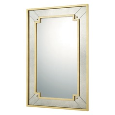 Capital Lighting Gold Leaf  Mirror 45x29