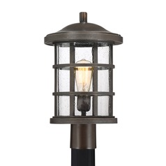 Quoizel Lighting Crusade Palladian Bronze Post Light