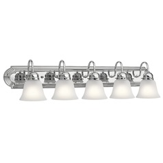 Traditional Bathroom Light Chrome by Kichler Lighting